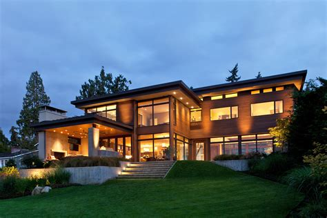modern lake house contemporary mercer island lake house infused with asian