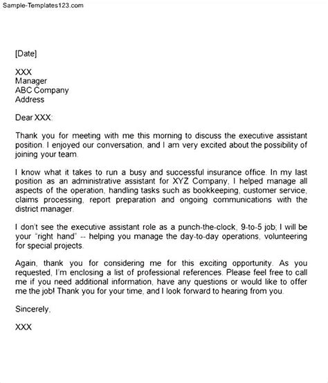 thank you letter after onsite professional thank you letter after sle