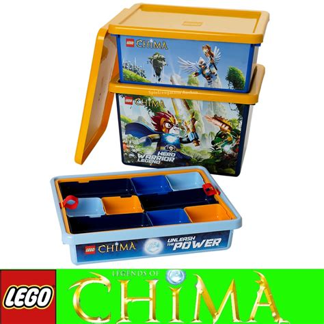 storage box sorting box lego chima system collector s box 4091 ebay