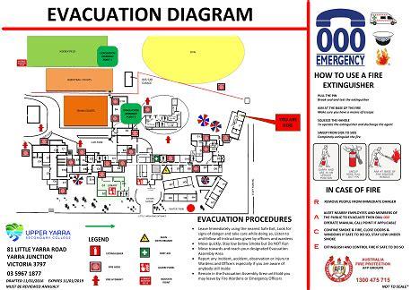 emergency evacuation diagrams melbourne emergency evacuation plans melbourne