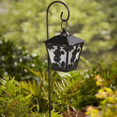 mickey mouse lights outdoor disney mickey solar lantern stake outdoor living