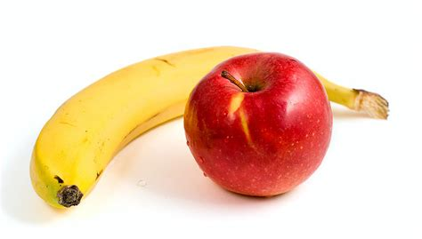 apple banana here are the surprising benefits of consuming apples and