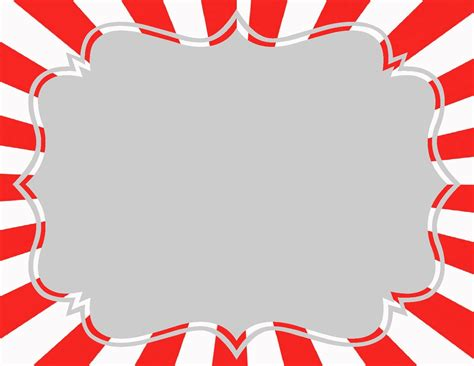 Carnival Template carnival more printables the balloon