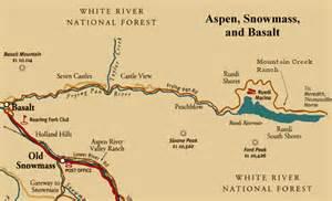 map of basalt colorado basalt colorado map