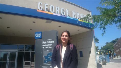 George Brown College Mba Fees by Erica From Bca Further Explores Potential At George