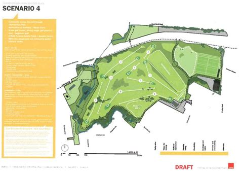 design concept takapuna chamberlain golf course plans greater auckland