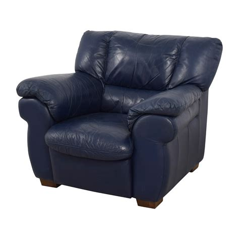 navy blue leather sofa sets 90 off macy s macy s navy blue leather sofa chair chairs