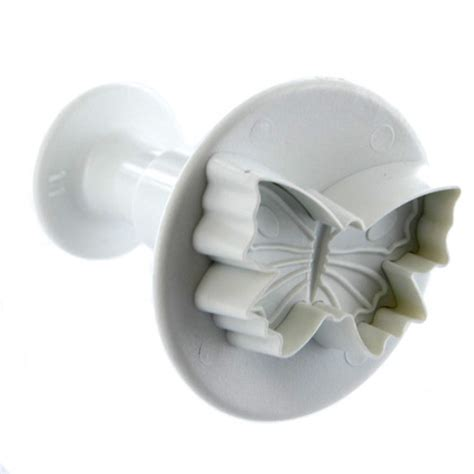 Veined Plunger veined butterfly 30mm plunger cutter by pme veiners veining tools