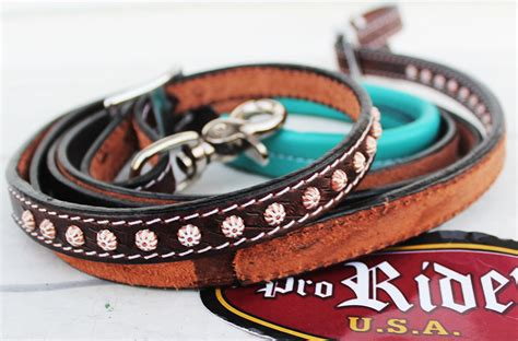 Horse Tack Sweepstakes - horse 8ft contest western tack barrel leather rein 6638 ebay