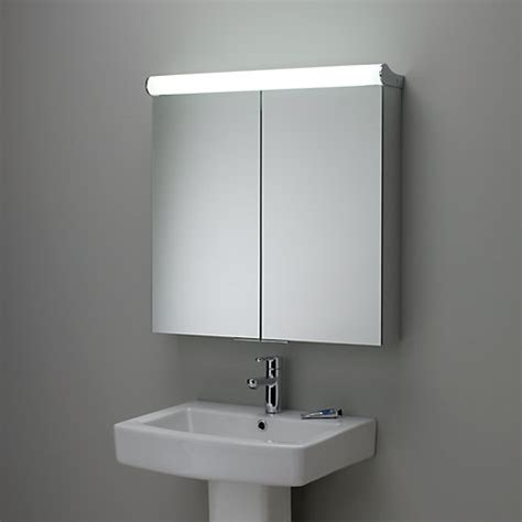 Buy Bathroom Mirror Cabinet Buy Roper Latitude Illuminated Bathroom Cabinet With Sided Mirror Lewis