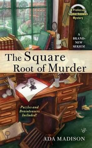 murder and in county iowa murder books the square root of murder knowles 1 by ada