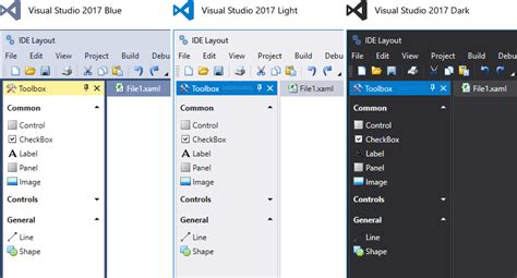wpf themes background color wpf themes vs 2017 office 2016 black v17 2