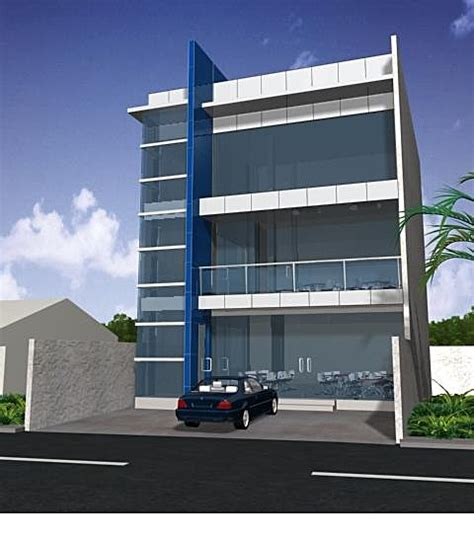 3 Story Building by 3 Storey Commercial Building Studio Design Gallery