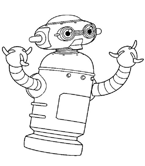 coloring pages for robot free coloring pages of robots for kids