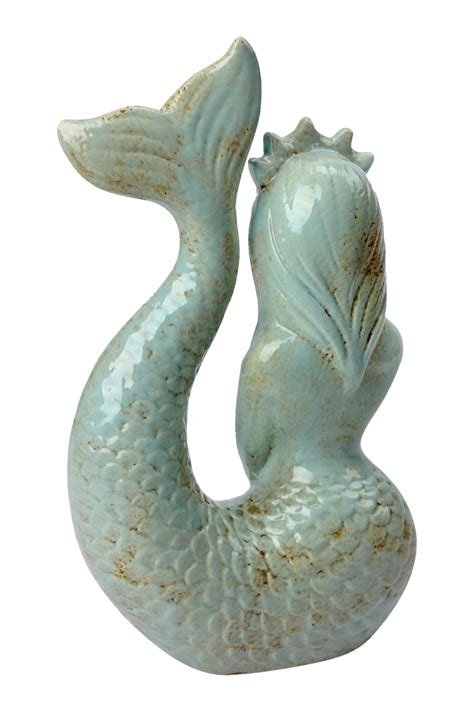 sculpture for home decor ceramic mermaid sculpture go home modern decor gifts
