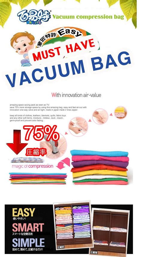 Vacuum Storage Bag Vakum Bag Set Free Pompa Isi 6 vacuum bag storage isi 6 pc free pompa