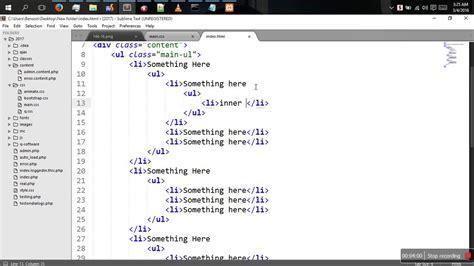 css tutorial in gujarati html folder tree exle beatiful tree