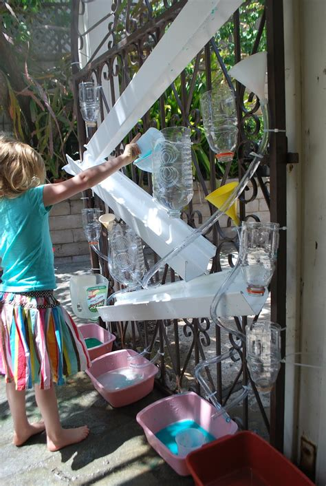 Backyard Water Play by Diy Water Wall Summer For Water Walls Water