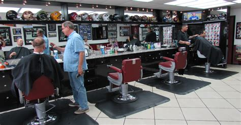 Names For Home Decor Shops pete s new york barber shop and styling shop
