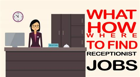 How To Find Part Receptionist Near Me