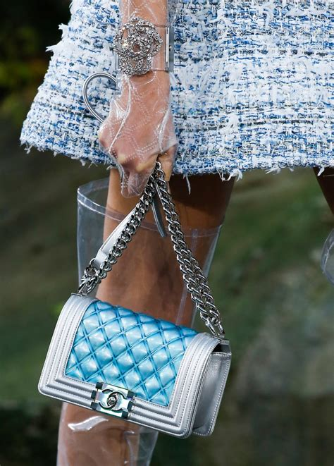 10 Best Summer Accessories By Chanel by Chanel Summer 2018 Collection Bags Boy Style