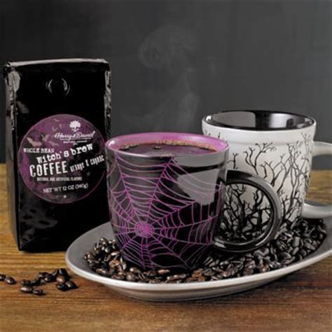 Harry N David Tea Pomegranate witches brew coffee gifts and witches on