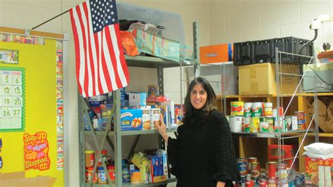 Needham Food Pantry by Tireless Dedication Town Council Honors Winsor Hill S