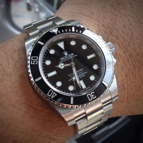 Premium Rolex Submarine Rs0011 Silver Combi Black 17 best images about my watches on weekender mink and solar