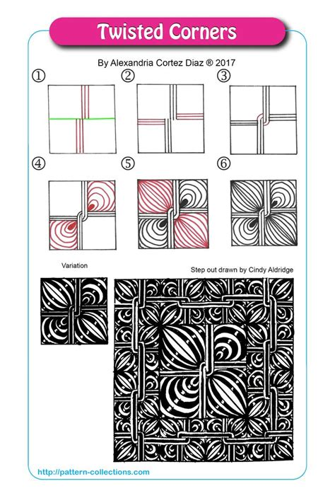 zentangle pattern collection 1445 best zentangle patterns collection com images on