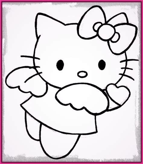 imagenes kitty para dibujar dibujos faciles de hacer de hello kitty archivos