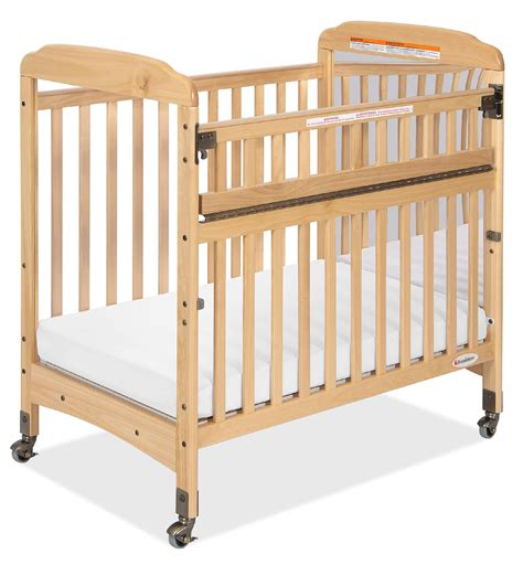 Foundations Baby Cribs Foundations Serenity Safereach Compact Crib Mirror End Baby Baby Furniture Cribs