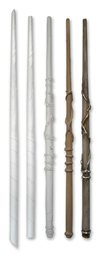 How To Make A Paper Wand - awesome harry potter wand get up and diy