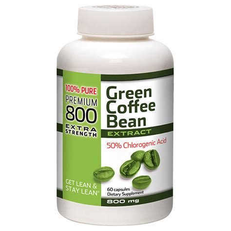 Green Coffee Bean Detox 800 by Green Coffee Bean With And Fight Ingredients