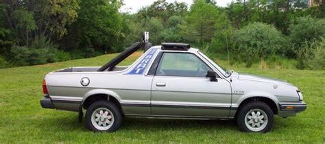 1993 subaru brat for sale hooniverse what the truck weekend the subaru brat and