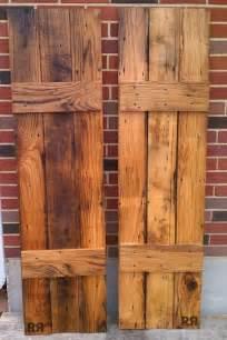 barn wood shutters barnwood board and batten shutters outdoors