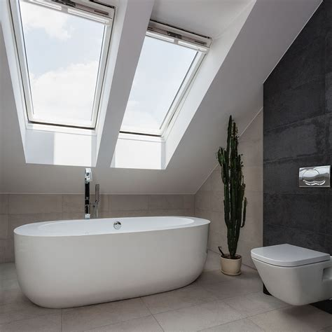 bathroom in loft conversion loft conversion attic conversion swansea bridgend
