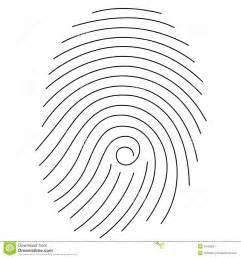 fingerprint stock image image 24785951
