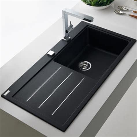 franke mythos fusion 1 0 bowl granite onyx black kitchen