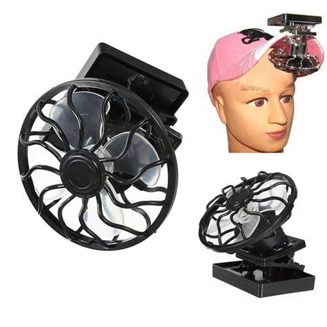 gear solar fan clip on solar sun power energy panel cooling cell fan