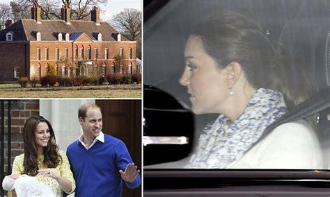 prince william kate middleton take princess charlotte kate middleton and prince william take princess charlotte