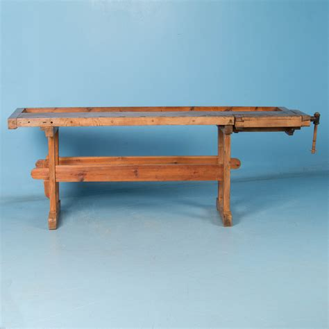 Sofa Table Ebay by Antique Carpenter S Workbench Console Table Ebay