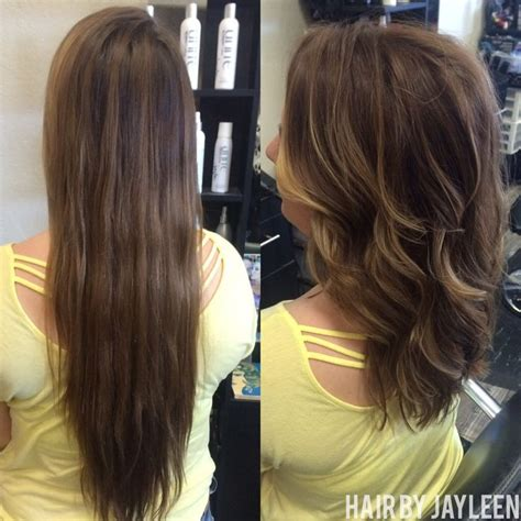 balayage highlights mid length hair before and after 1000 images about hair by jayleen on pinterest san