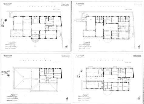 floor plan magazines art house villa necchi ciglio port magazine
