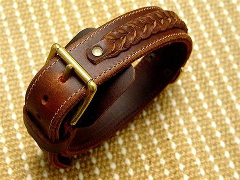 Handcrafted Leather Collars - handcrafted leather collar for mastiffs big handmade