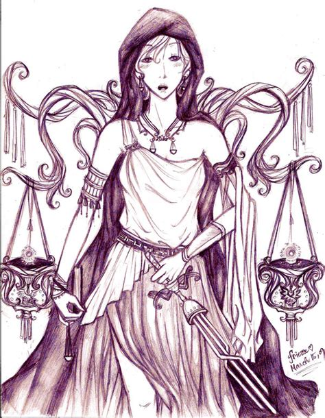 dike greek mythology dike the goddess of justice by friesse on deviantart