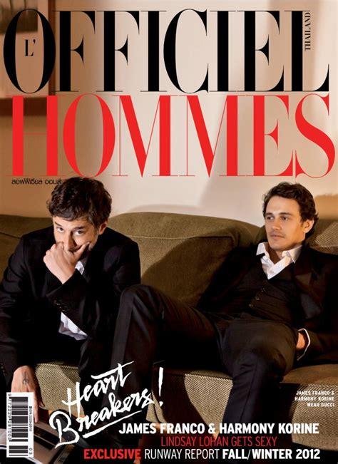 film thailand harmonies james franco harmony korine for l officiel hommes