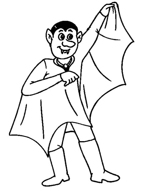 Vire Coloring Pages For Kids Coloringpagesabc Com Dracula Coloring Pages