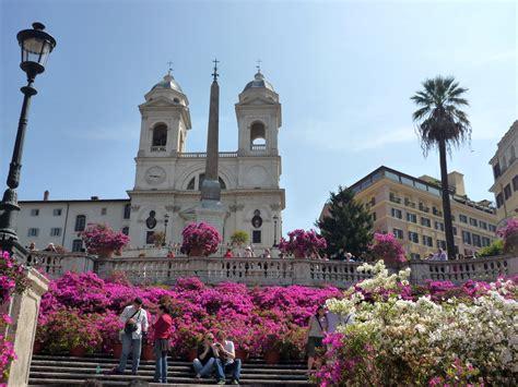 rom co dei fiori piazza di spagna cosa fare a roma