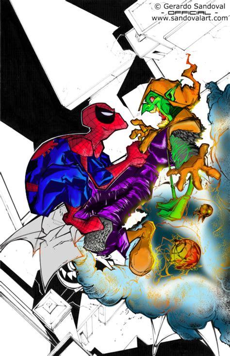 spiderman vs goblin film ita spiderman vs green goblin by krowkid on deviantart