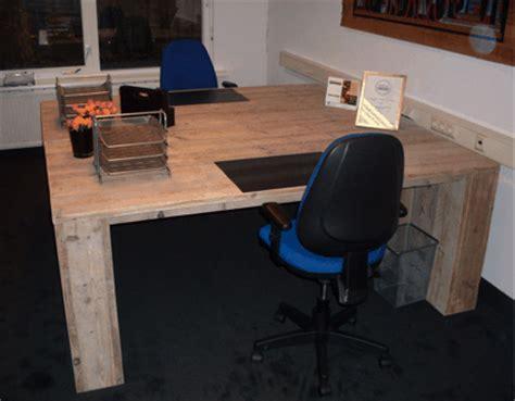 buro steigerhout maken steigerhouten bureau sevilla steigerhoutenmeubelshop nl